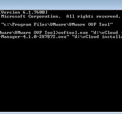 Part 4: Installing vShield manager and vCloud Director